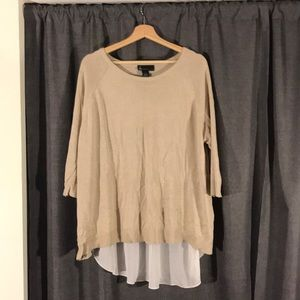 NWOT LANE BRYANT SIZE 18/20 Hi-Lo Sweater